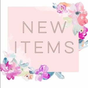 New items listed!
